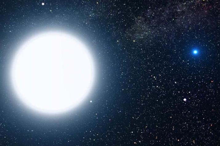 estrella enana blanca detectada por la NASA