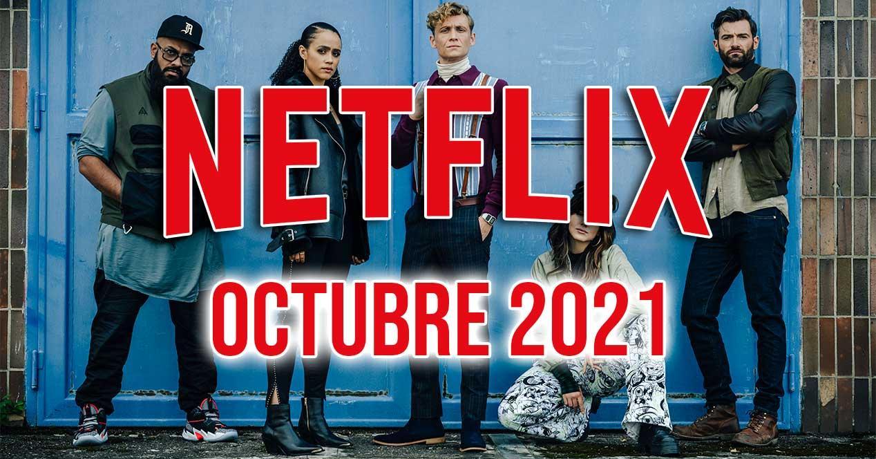 netflix octubre 2021 estrenos