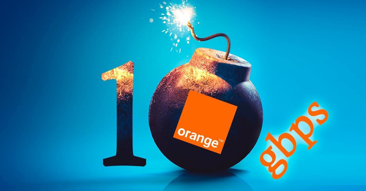 orange 10 gbps