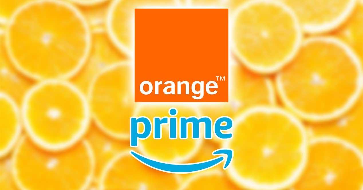 orange amazon prime