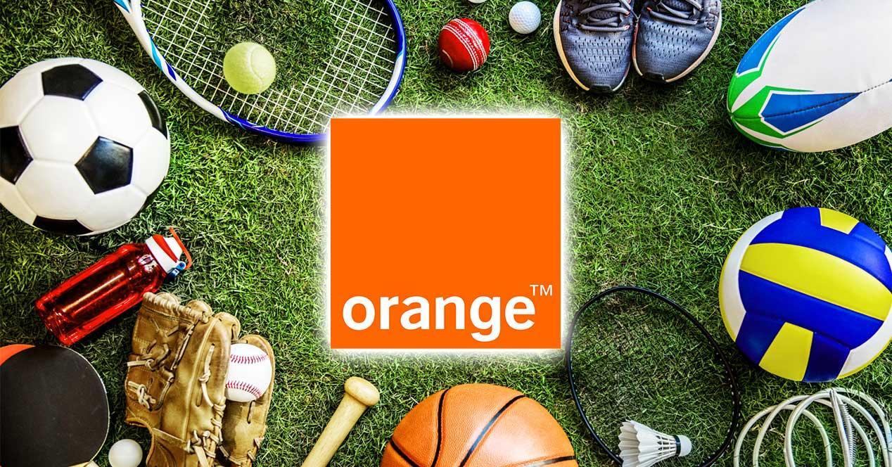 orange deporte