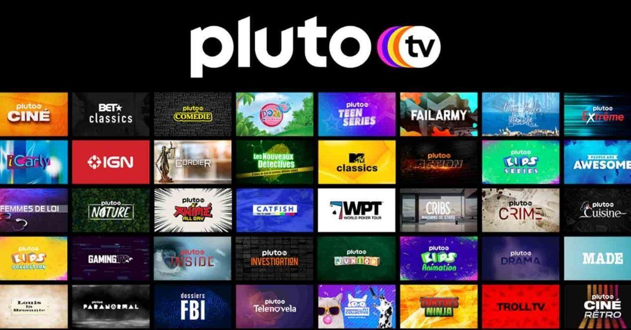 Pluto TV dispositivos compatibles