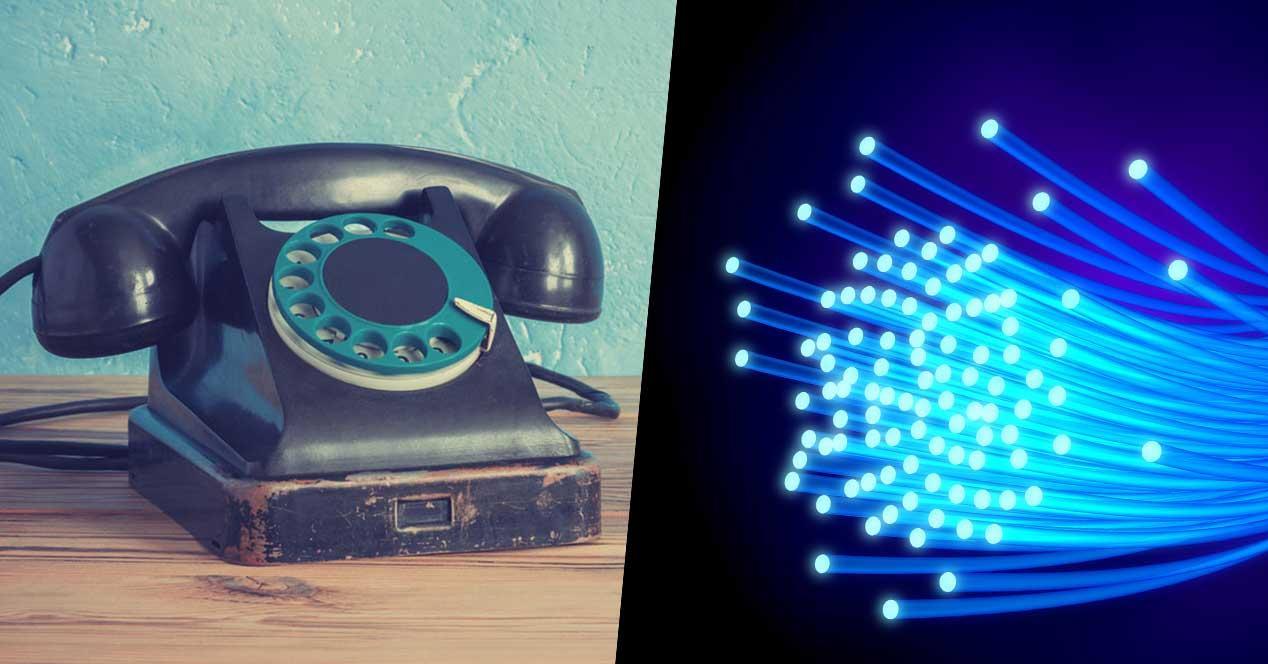 telefono fijo fibra optica