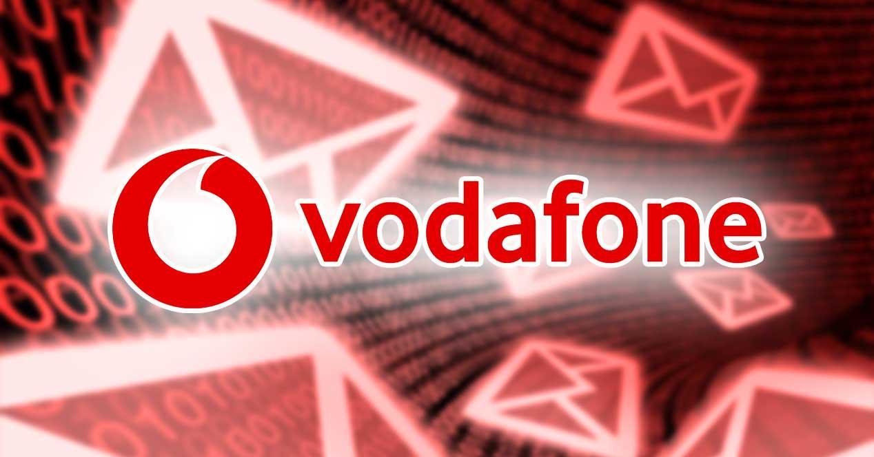 vodafone email falso phishing
