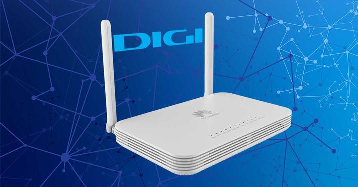 Huawei OptiXstar HG8147X6 router wifi 6 digi gpon