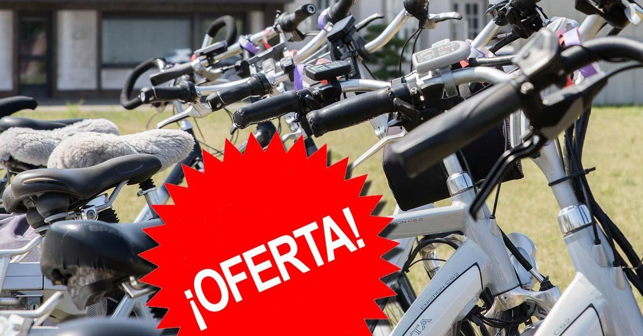Bicis eléctricas con logo oferta