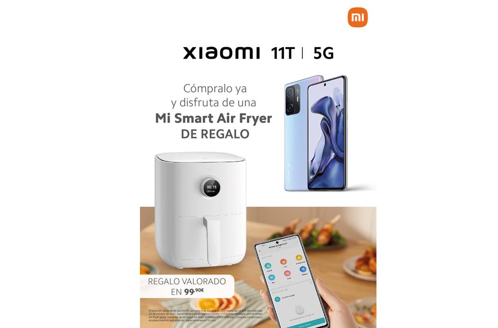 Promoción Xiaomi 11t y Mi Air Fryer
