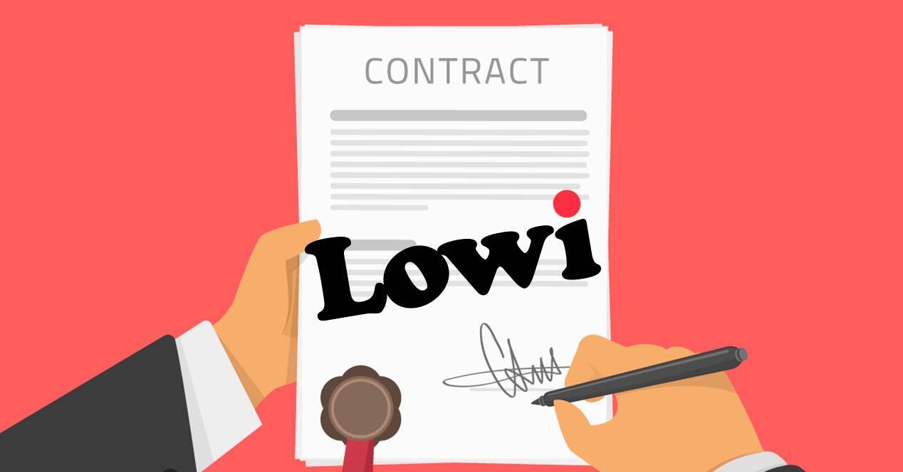 Contratación con Lowi