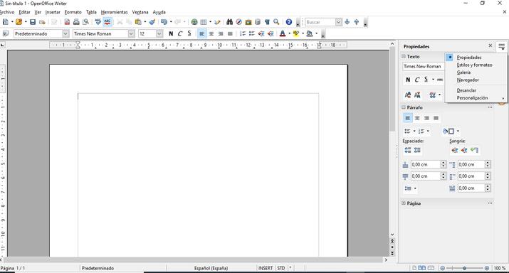 openoffice editor