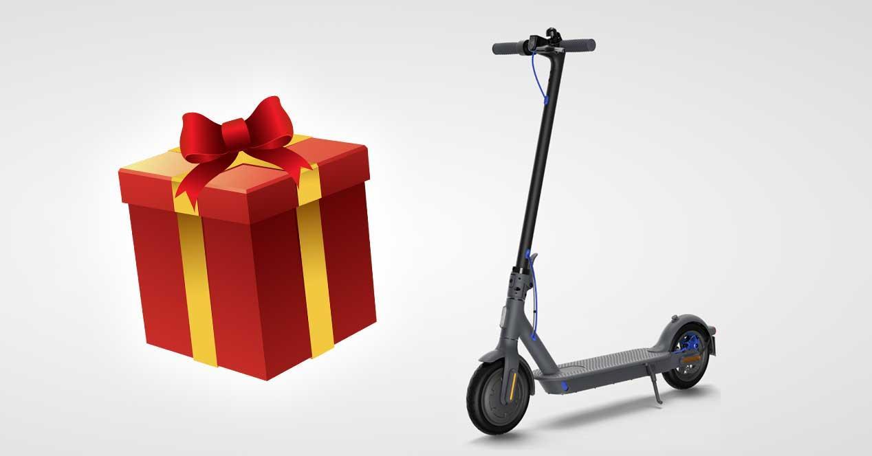 xiaomi mi scooter 3 patinete regalo