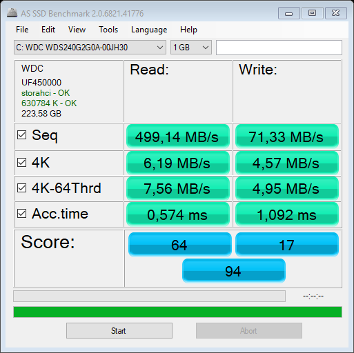as-ssd-bench WDC WDS240G2G0A- 20.1.2019 13-45-51.png